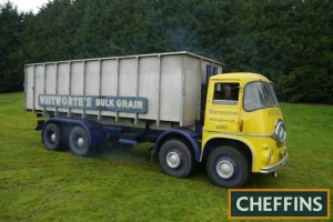 1961 ERF KV 68GX 8wheel TIPPING LORRY Fitted with Gardner 150 engine, aluminium bulk tipper, twin steer and sign written 'Whitworths'. V5C available Reg. No. 899 ABD Serial No. 10022