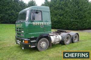 *PLEASE NOTE CORRECT KMS* 1995 FODEN 4375 6x4 TRACTOR UNIT Fitted with Perkins Eagle TX engine. Same ownership from new. V5C available Reg. No. N196 NAY Serial No. 450061 Mileage: 315,979kms (replaced tachometer)