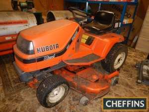 KUBOTA G1900 HST 4ws diesel RIDE-ON MOWER Hours: 616