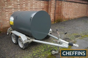 2013 Fuel Proof 1,000ltr tandem axle fuel bowser