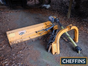 Reco Ferri ZMTE 2000 mounted hydraulic off-set flail mower, 2m