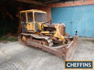 TRACK MARSHALL 70 6cylinder diesel CRAWLER TRACTOR Fitted with hydraulic blade and cab