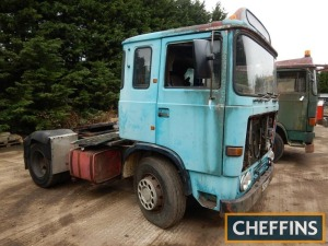 1980 ERF B Series 4x2 TRACTOR UNIT Fitted with Gardner 8cylinder diesel engine. V5C available Reg. No. CFO 459V Serial No. 42832
