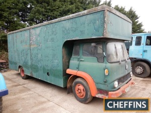 BEDFORD TK PANTECHNICON REMOVAL LORRY Fitted with 6cylinder diesel engine c/w 2bolts of filter housing. V5C available Reg. No. TRY 326HSerial No. EJM3BC09T14498Mileage: 59,181