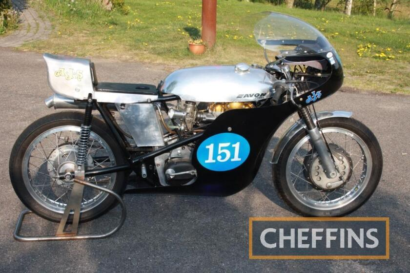 AJS 350cc 7R Seeley Replica Racing MOTORCYCLE ex-Team Beaujolais Racing Frame No. BSR 0803 Engine No. 51/7R 879 Complete with scrutineers sticker for August 2018 indicating relatively recent action, this machine has been consigned from Scandinavia and is