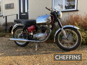 1964 249cc Royal Enfield Crusader Sports MOTORCYCLE Reg. No. ABK 294B Frame No. 2432 Engine SR6818 The Crusader Sports with its alloy head and upgraded engine was capable of 80mph straight out of the crate. This example is in smart order with good chrome