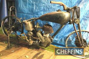 1935/6 490cc Norton Model 16H project MOTORCYCLE Reg. No. N/A Frame No. 57726 Engine No. 68184 In the current ownership for many years. The vendor describes the 16H as a reassembled basket case. The frame No. matches the sequence for 1935 whilst the side