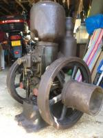 c.1920 Petter M1 B2 stationary engine No. 75916077