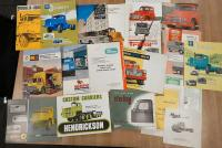 American commercial vehicle brochures to inc' American-Coleman, Chrysler, Diamond T and Federal etc (19)