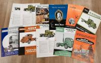 White commercial vehicle brochures and leaflets (11)
