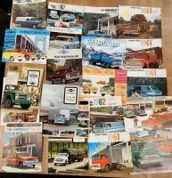 Chevrolet commercial vehicle brochures, in various languages (20)