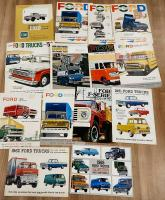 American Ford commercial vehicle brochures, in various languages (13)