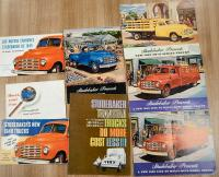 Studebaker commercial vehicle brochures, in various languages (9)