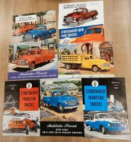 Studebaker commercial vehicle brochures, in various languages (7)