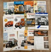 International commercial vehicle brochures and leaflets, in various languages (12)