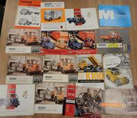 Morris commercial vehicle brochures and leaflets, various languages (16)