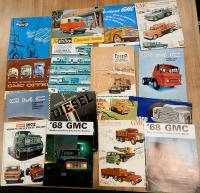 GMC commercial vehicle brochures, various languages (15)