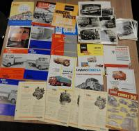 Leyland commercial vehicle brochures, leaflets and press pack (22)