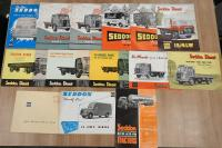 Seddon commercial vehicle brochures and leaflets (14)