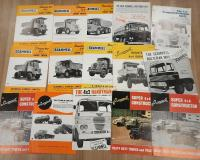 Scammell commercial vehicle brochures and leaflets (15)