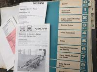 Volvo F10 and F12 lorry workshop and operators manuals