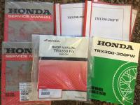 Honda quadbike workshop manuals