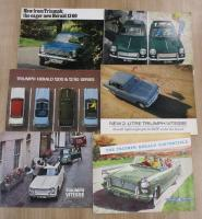 Triumph Herald, Vitesse and Convertible: 6 original sales brochures