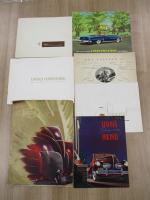 Lincoln & Chrysler, 7 sales brochures 1930s-60s