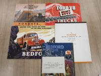 Commercial vehicle sales brochures, Bedford, Ford, Chevrolet, Cunard 1930s and 40s