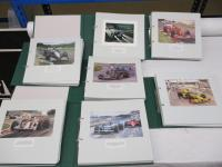 Michael Turner; a complete set of the published Christmas cards 1963-2016 inclusive, single sheets 1963-93, complete cards 1994-2016 all mounted in green Studio 88 Motor Sports Cards binders (7)