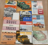 Dodge commercial vehicle brochures and leaflets, in various languages (13)