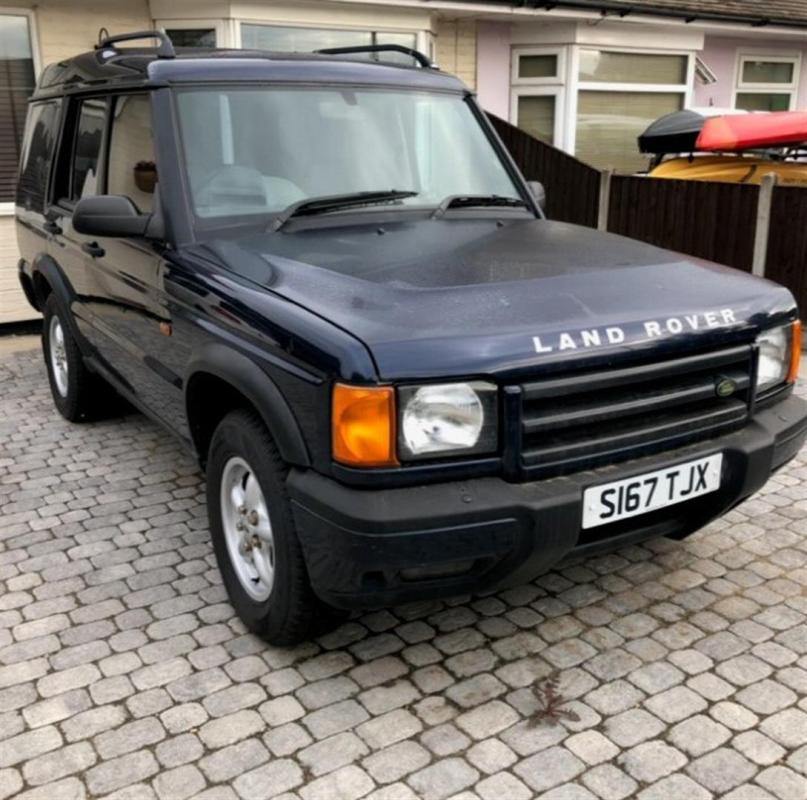 For Sale 2000 Land Rover Discovery 2: 1998 2495cc Land Rover Discovery TD5 Reg. No. S167 TJX