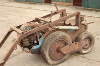 RAMSOMES MG6/40 TRACTOR Fitted with a front loader and retro fit tyres