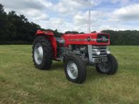 1969 MASSEY FERGUSON 135 MultiPower 3cylinder diesel TRACTOR Reg. No. OVJ 463G Serial No. 130382 This ex-College example has benefited from a repaint and is fitted with new tyres