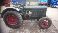 INTERNATIONAL 10-20 4cylinder petrol/paraffin TRACTOR A well presented earlier restoration on pneumatic wheels and tyres, fitted with pulley wheel