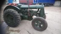 FORDSON Standard N 4cylinder petrol/paraffin TRACTOR An earlier restoration that is finished in green, this narrow wing version is fitted with rear pneumatic cross pattern tyres