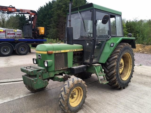 JOHN DEERE 2130 diesel TRACTOR Fitted with OPU Cab  This ex-farm