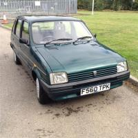 1989 998cc Austin Rover Metro 1.0L Reg. No. F560 TPK Chassis No. SAXXFMWB1BD38693 A rare survivor with just 21,000 recorded miles which the vendor states as being completely genuine. The body is described as being totally original and unwelded having had