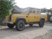 1976 3500cc Land/Range Rover 'Rogered Rover' Reg. No. NCF 888R Chassis No. 35526116D This petrol/LPG 100ins V8 coil sprung Land Rover has been built on a 1976 Range Rover chassis and running gear fitted with the shorter 101 4 speed gearbox allowing the V8