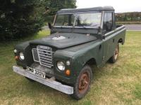 1979 2286cc Land Rover Series 3 88ins Reg. No. DMR 322V Chassis No. LBAAH1AA115890 With just 3 former keepers this Series 3 appears to be in very original and unrestored order, the vendor states that the recorded 65,000 miles are genuine and it's still in