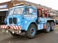 1971 AEC Militant Mk3 6x6 Recovery Vehicle Reg. No. FYA 22J Chassis No. 0870187 Fitted with a Scammell winch and a Thorneycroft telescopic crane the Militant has been used in recent years for agricultural vehicle recovery such as pulling sugar beet harves