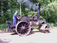 Fowler Steam Roller. Class DN1. 10 tons. Works No. 16614 Reg No. PP 5902 Double Crank Compound. Two speed During the 1920s in the later days of steam manufacturing, Fowlers concentrated their production on steam rollers, there still being a healthy demand
