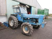 1976 ROADLESS 105 6cylinder diesel TRACTOR Reg. No. RCG 425P Serial No. 7259 In excellent mechanical condition this very original tractor is fitted with a Duncan cab with glass intact. Evidently the tractor has been used in the forestry industry yet despi