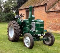 1948 FIELD MARSHALL Series 2 single cylinder diesel TRACTOR Reg. No. 334 YUN Serial No. 7381 In the current ownership since 2012 this extremely well presented Series 2 was fully restored prior to the purchase by acknowledged marque experts Robert H Crawfo
