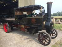 Foden Ltd 4 Ton DCC 2 Speed Steam Wagon.Works No.3510. Reg. No.M 4673. Built 1913. This steam wagon was delivered new to J. Lawton a Manchester haulier who ran a large fleet of these vehicles in the Manchester - Liverpool area hauling goods such as cotton