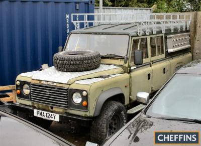 1978* 3.5litre Land-Rover Series III 130inch Special Reg. No. PMA 124Y Chassis No. 94123061C An ex military Series 3 109inch that arrived on civvy street in July 1983 hence the Y suffix registration number. At some point the Land Rover was stretched to 13