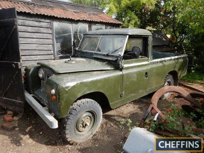 1959 2250cc Land Rover Series II 109inch Reg. No. UAS 118 Chassis No. 151000216 This 109inch project Land Rover was originally registered PPN 602 (East Sussex) and has been in the current ownership for the last 22 years. A perfect project machine that is