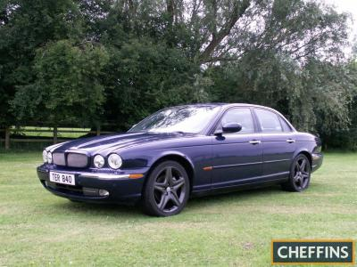 2003 2967cc Jaguar XJ350 Sport V6 Automatic Reg. No. TER 840 Chassis No. SAJAC73M14VG15222 The all alloy bodied XJ350 is finished in blue and is the daily driver of a local company director. We are informed that it has a full service history and all previ