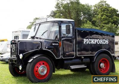 1964 Seddon Atkinson Ballast Box Lorry ex Pickfords Reg. No. ALR 177B Chassis No. FC9760 Originally one of a small batch of bonneted heavy haulage tractor units built by Atkinson for Pickfords (Fleet No. M3444). The next owner was the Crows family who use