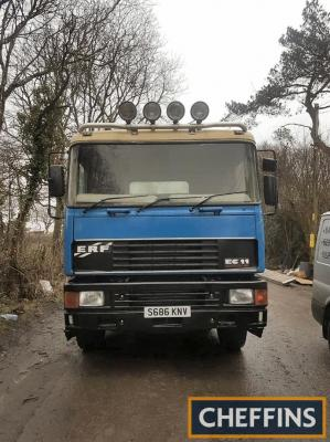 1999 ERF EC11 6x4 Tractor Unit Reg. No. S686 KNV Chassis No. 87875 This EC11 was supplied new to Heygates Flour and has only had 2 other owners since. The vendor states that the ERF has been re-registered for private use and consequently is offered for sa
